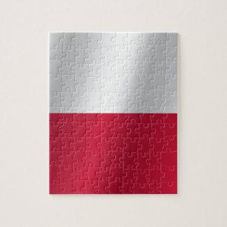 ポーランドの旗 ジグソーパズル