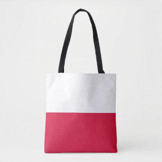 ポーランドの旗 トートバッグ