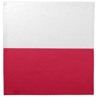 ポーランドの旗 ナプキンクロス