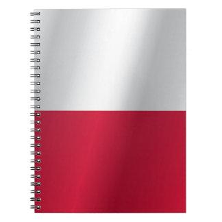 ポーランドの旗 ノートブック