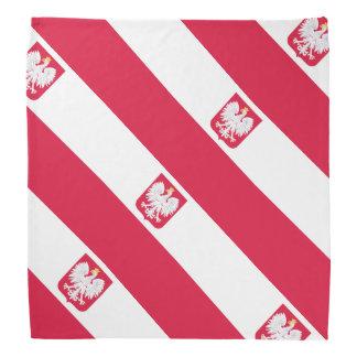 ポーランドの旗 バンダナ