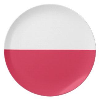 ポーランドの旗 プレート