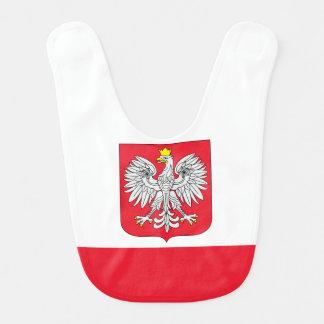 ポーランドの旗 ベビービブ