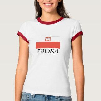 """ポーランドの旗""""ポルスカ"""" Tシャツ"""