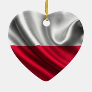 ポーランドの旗、ポーランドの旗 セラミックオーナメント