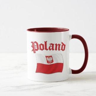 ポーランドの旗 マグカップ
