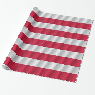 ポーランドの旗 ラッピングペーパー