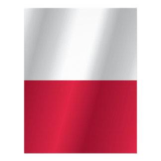 ポーランドの旗 レターヘッド