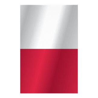 ポーランドの旗 便箋
