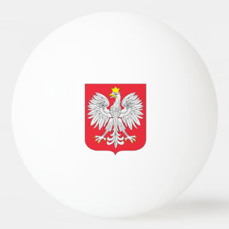 ポーランドの旗 卓球ボール