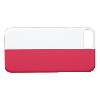 ポーランドの旗 iPhone 8/7ケース