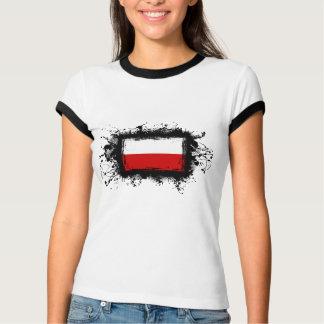 ポーランドの旗 Tシャツ