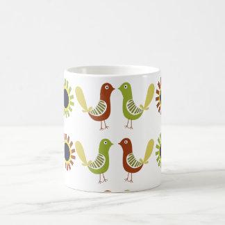ポーランドの民俗鳥、マグ コーヒーマグカップ