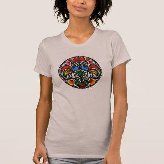 ポーランドの民芸/Wycinanki Tシャツ