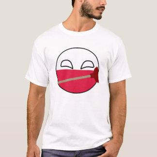 ポーランドの球鉛管工 Tシャツ