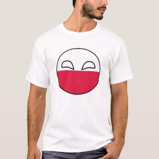 ポーランドの球 Tシャツ