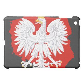 ポーランドの白のワシ iPad MINI CASE