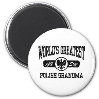 ポーランドの祖母 マグネット