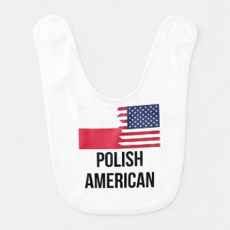 ポーランドの米国旗 ベビービブ