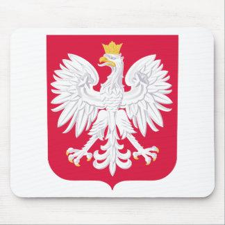 ポーランドの紋章付き外衣 マウスパッド