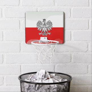 ポーランドの紋章付き外衣 ミニバスケットボールゴール