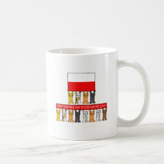 ポーランドの聖名祝日 コーヒーマグカップ