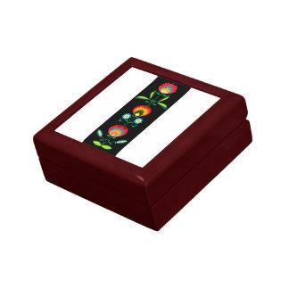 ポーランドの花の刺繍、ギフト用の箱 ギフトボックス