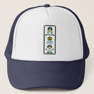ポーランドの花の刺繍、帽子 キャップ