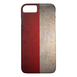 ポーランドの都市グランジな旗のiPhone 7の場合 iPhone 8/7ケース
