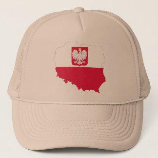 ポーランドの頂上の地図の帽子 キャップ