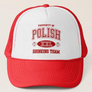 ポーランドの飲むチーム キャップ