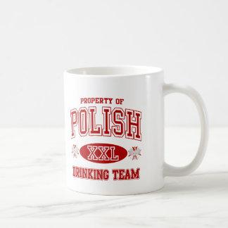 ポーランドの飲むチーム コーヒーマグカップ