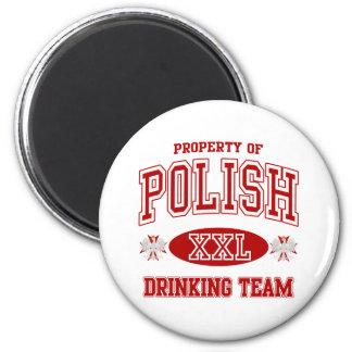ポーランドの飲むチーム マグネット