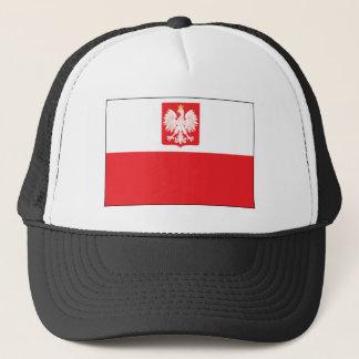ポーランドの《鳥》ハヤブサの旗 キャップ