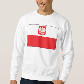 ポーランドの《鳥》ハヤブサの旗 スウェットシャツ