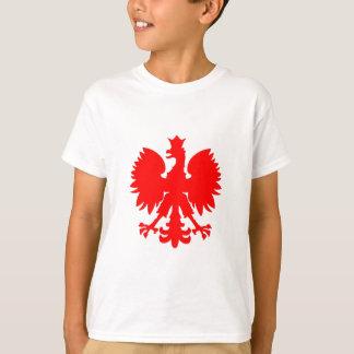 ポーランドの《鳥》ハヤブサ(ワシ) Tシャツ
