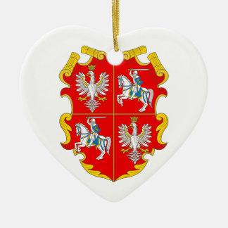 ポーランドリスアニア連邦(バラの上昇) セラミックオーナメント