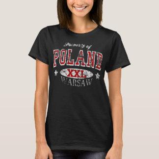 ポーランドワルシャワの特性 Tシャツ