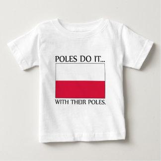 ポーランド人はしますそれを… ポーランド人を使って ベビーTシャツ