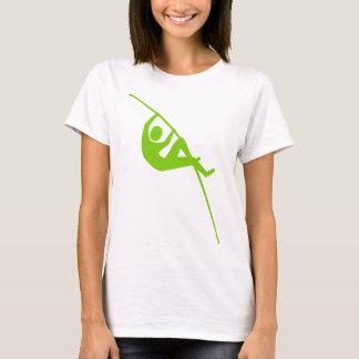 ポーランド人アーチ形天井-火星人の緑 Tシャツ