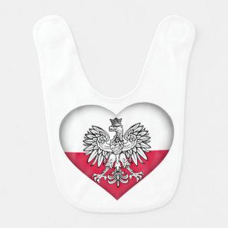 ポーランド愛ベビー用ビブ ベビービブ