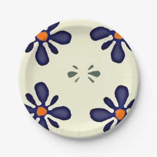 ポーランド陶器のデザインの紙皿 ペーパープレート