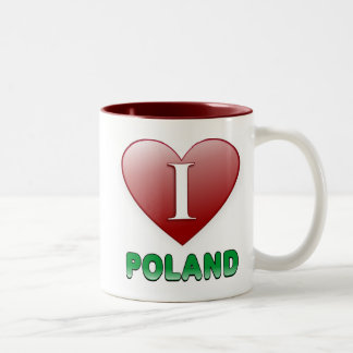 ポーランド ツートーンマグカップ