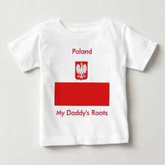 ポーランド ベビーTシャツ