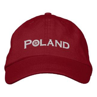 ポーランド 刺繍入りキャップ