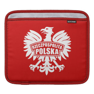 """ポーランド""""Rzeczpospolitaポルスカ""""のワシの記号 iPadスリーブ"""