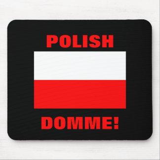ポーランドDOMME! マウスパッド
