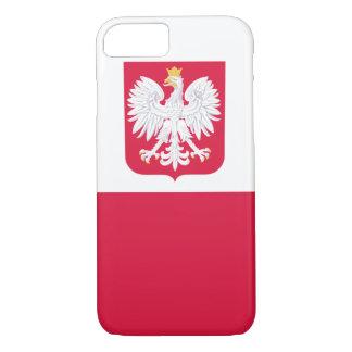 ポーランドFLAGE IPHONEの場合 iPhone 8/7ケース