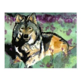 ポーラAtwell著オオカミ ポストカード