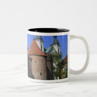 ポーリーン外堡および教会、ワルシャワ、 ツートーンマグカップ